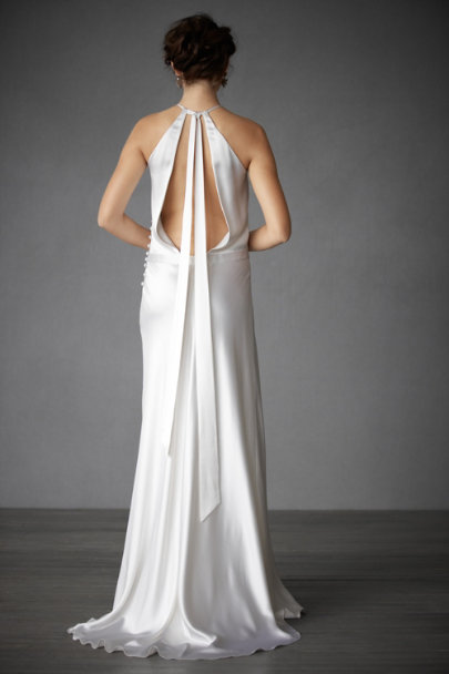 Delphine Manivet Ivory Mickael Gown | BHLDN