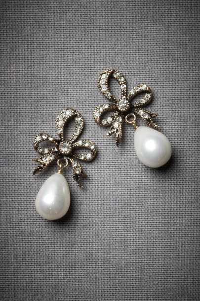 Pearl Troika Earrings | BHLDN