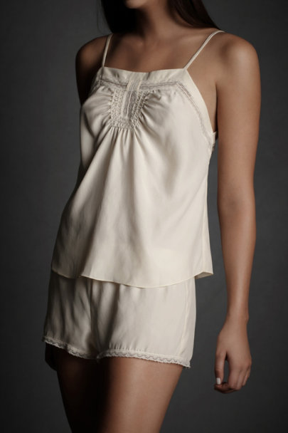 Ivory Inverted Crown Camisole | BHLDN