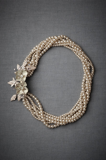 Debra Moreland Pearl Break-Of-Day Necklace | BHLDN