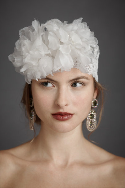 Twigs & Honey Ivory Quixotic Cap | BHLDN