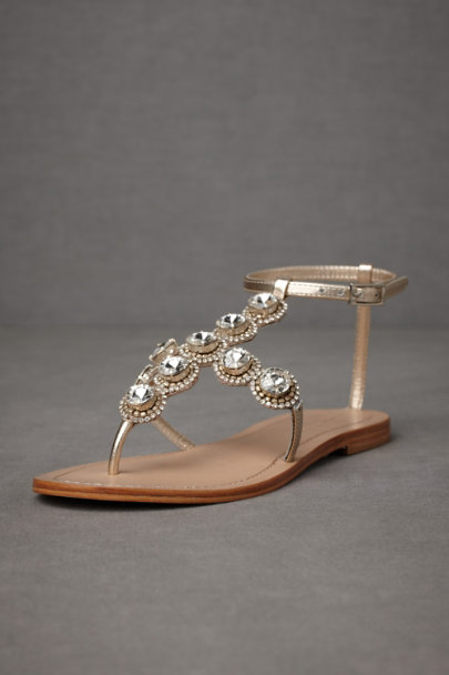Crystal Brilliant Axis Sandals | BHLDN