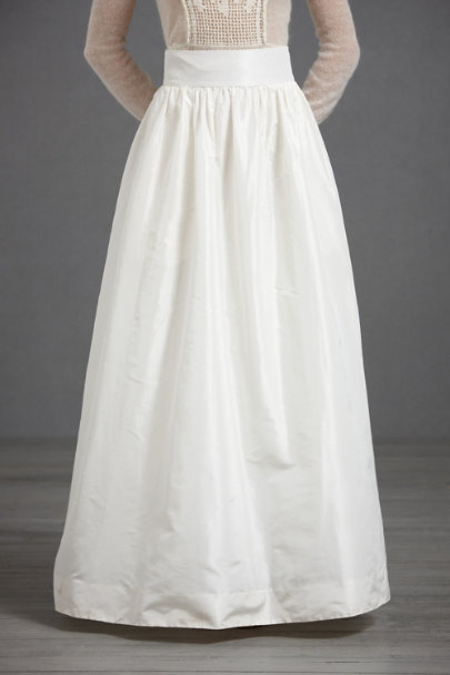Buttercream Beatific Ball Skirt | BHLDN