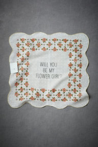 Flower Girl Kerchief