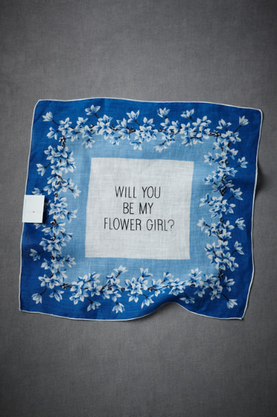 Bird & Banner Multi Flower Girl Kerchief | BHLDN
