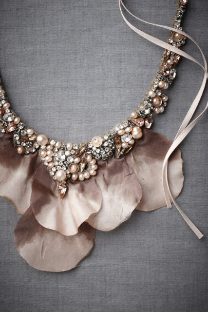 MAUVE Unfurled Iris Necklace | BHLDN
