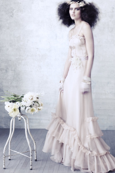 Lilac Passionflower Sash | BHLDN