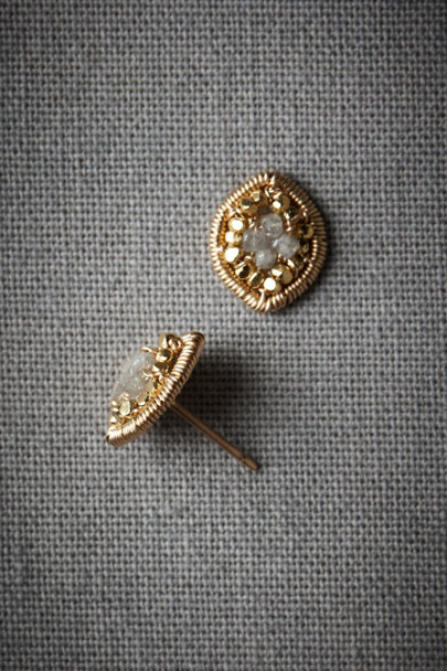Gold Lilliputian Earrings | BHLDN