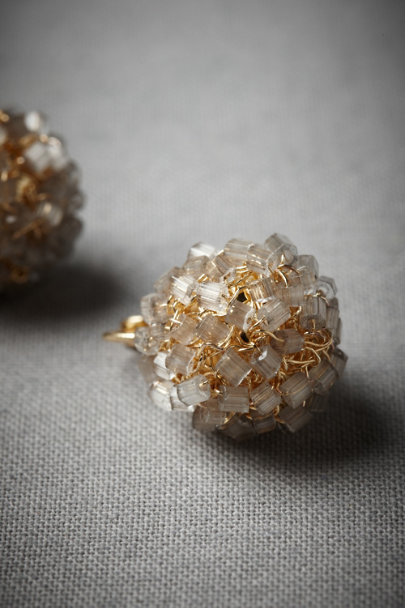 Grey Iceberry Earrings | BHLDN