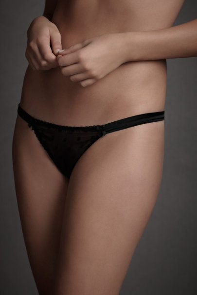 Black Obsidian Knickers | BHLDN