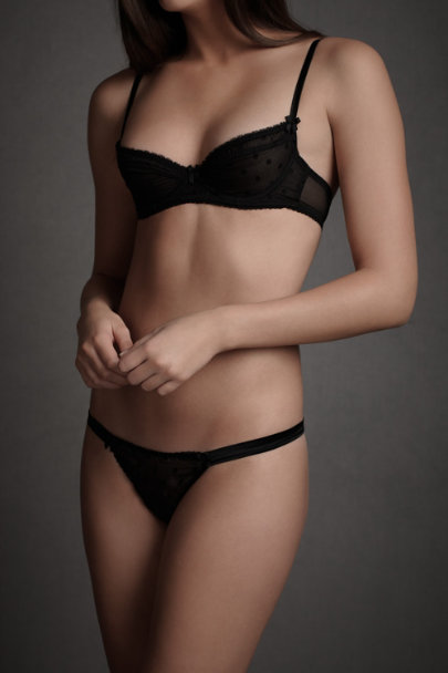 Black Obsidian Bra | BHLDN