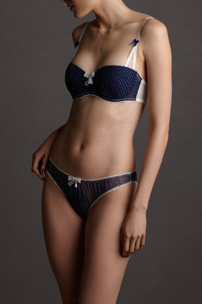 blue motif Boardwalk Bra | BHLDN