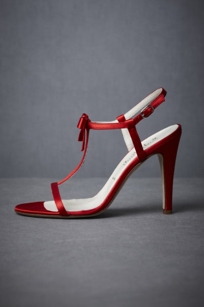 Red Cinnamon Tree Heels | BHLDN
