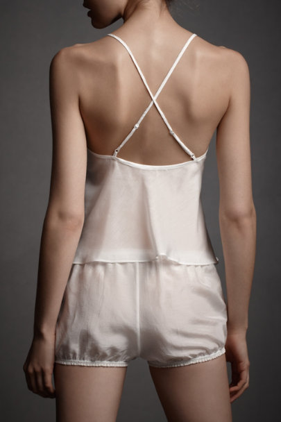 Ivory Tamarisk Valley Camisole and Short Set | BHLDN