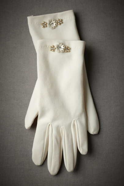 Ivory Tidy & Trim Gloves | BHLDN