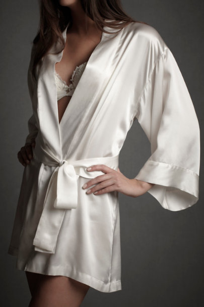 Ivory Quiet Hours Robe | BHLDN