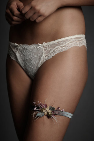 Evergreen and Holly Garter