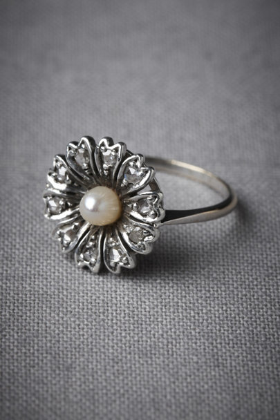 White Gold Everlasting Ring | BHLDN