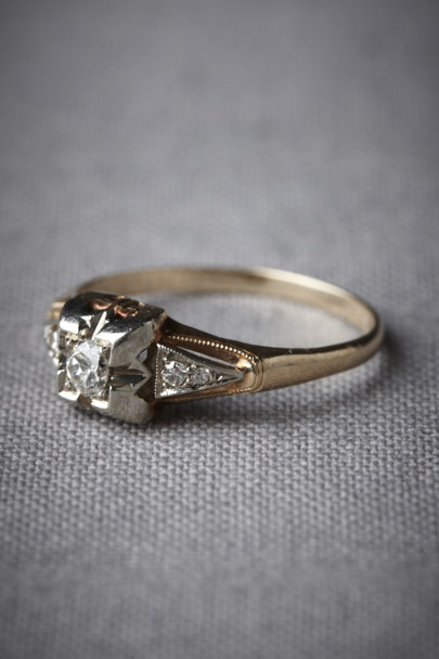 Gold Chance Encounter Ring | BHLDN