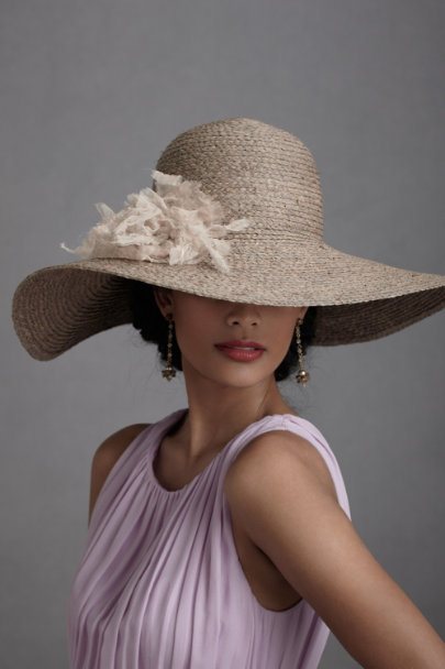 Dusty Lavender Tranquil Day Hat | BHLDN