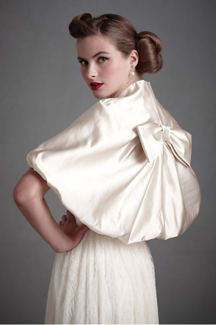 Blouson Jacket in  SHOP Attire Cover-Ups at BHLDN :  jacket wedding shrug hitherto