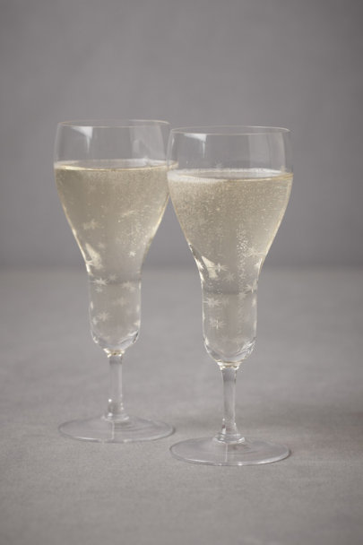 Clear Night Sky Toasting Glasses (2) | BHLDN