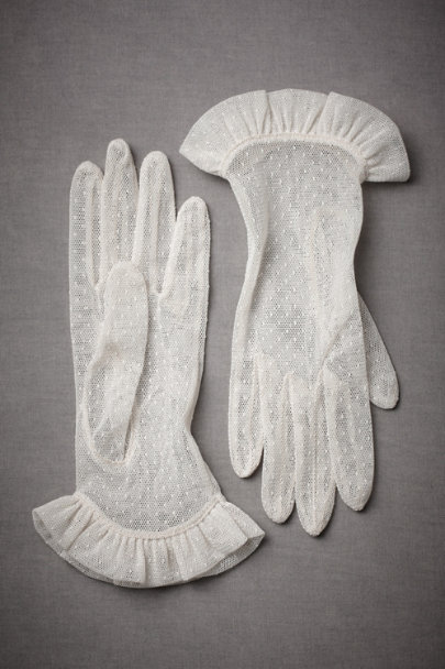 Ivory Victoriana Gloves | BHLDN