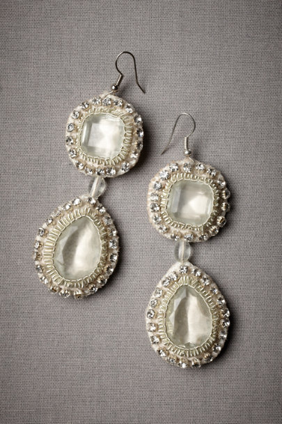 Crystal Cyprus Coast Earrings | BHLDN