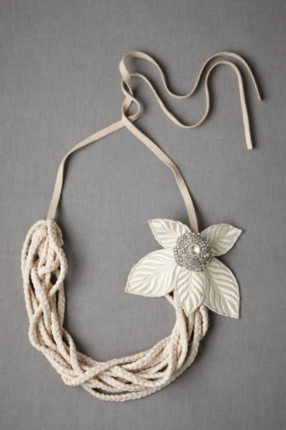 Neutral Haleakala Necklace | BHLDN