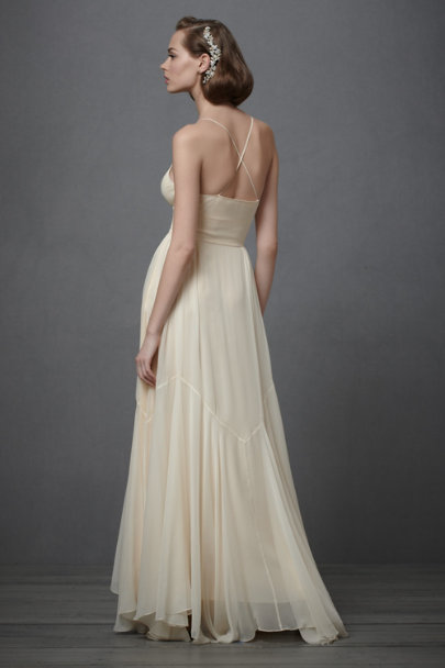 Ivory Parrish's Princess Gown | BHLDN