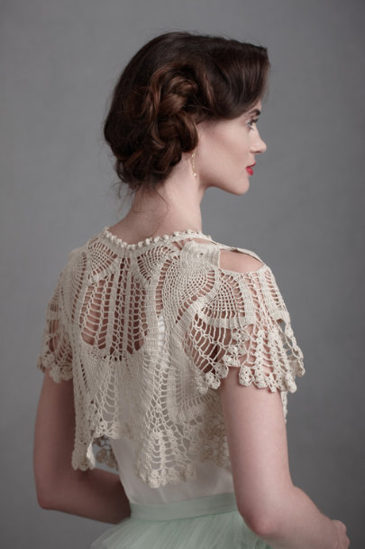 Cream Forest Edge Cardigan | BHLDN