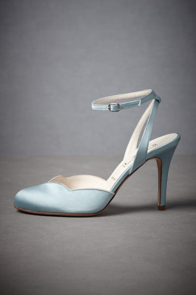 Tiffany Blue/Ivory Forties Forever Slingbacks | BHLDN