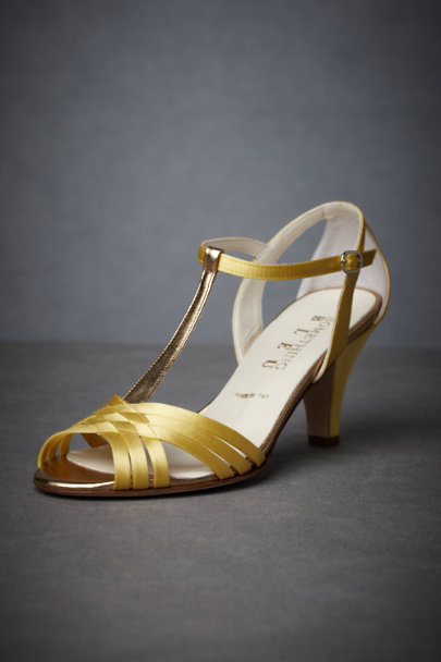 Sunshine Criss-Cross T-straps | BHLDN