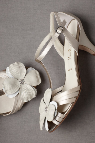 Ivory Whipple-Tree Shoe Clips | BHLDN