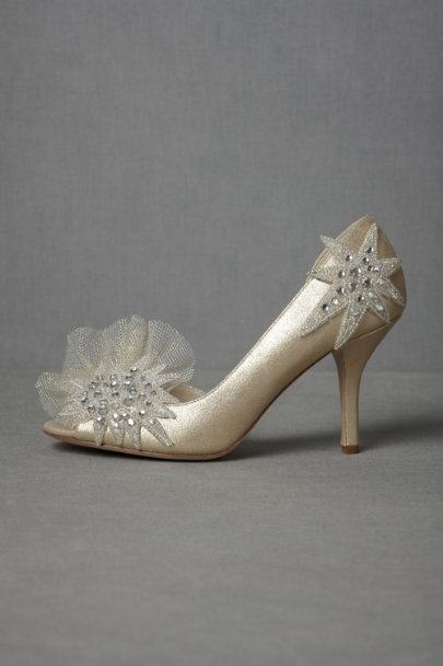 Gold Spirit-Of-The-Moment Heels | BHLDN