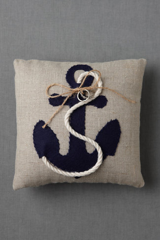 Moored Devotion Ring Pillow