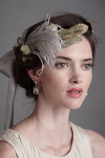 James Coviello Grey Empyrean Circlet | BHLDN