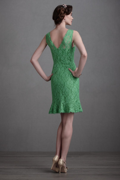 Green Filicinae Sheath | BHLDN