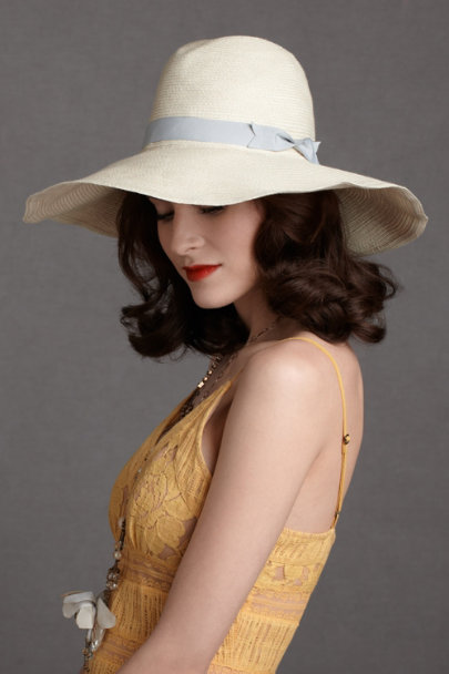 neutral Rolling Hills Hat | BHLDN