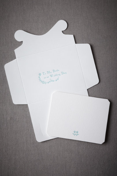 Sky To My Bride Card | BHLDN