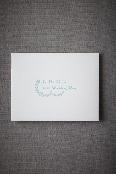Sky To My Groom Card | BHLDN