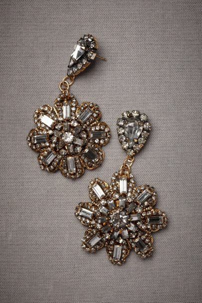 Erickson Beamon gold Encircled Rays Earrings | BHLDN