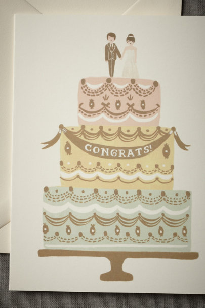 Rifle Paper Co. Multi Pastel Pastry Card | BHLDN