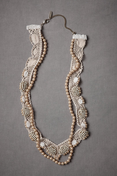 Ivory Low Tide Necklace | BHLDN