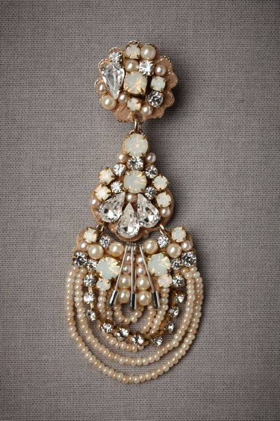 Clear Out-Of-The-Blue Earrings | BHLDN