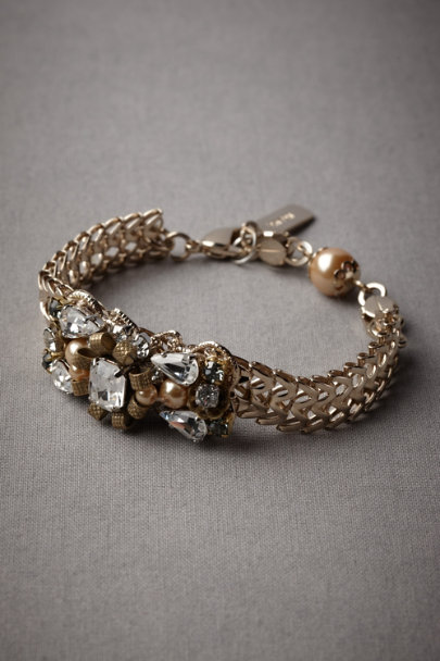 Gold Blooming Waterway Bracelet | BHLDN