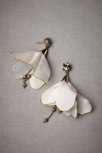 Grey Danseuse Earrings | BHLDN
