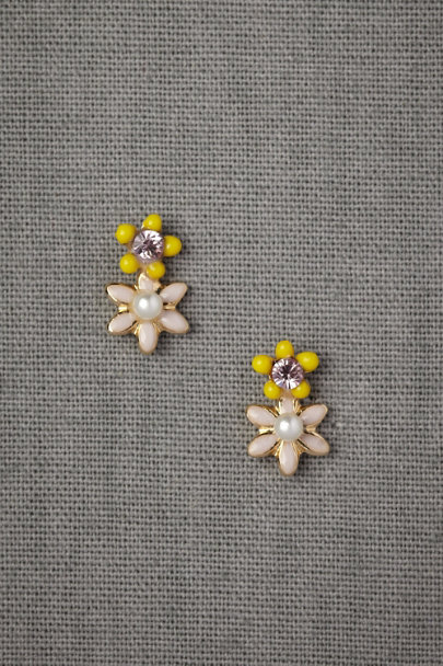 Lavender & Lemon Earrings
