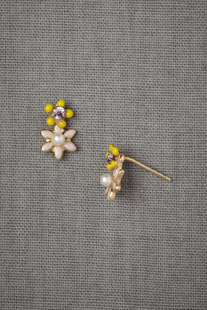 violet Lavender & Lemon Earrings | BHLDN
