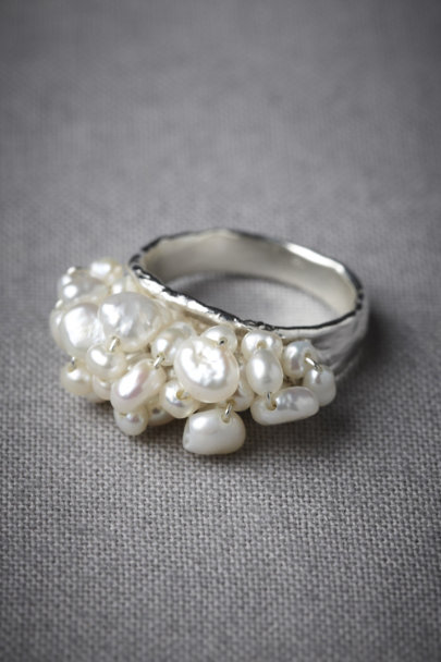 Silver Spumante Ring | BHLDN